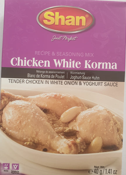 CHICKEN WHITE KORMA, SHAN, 40G