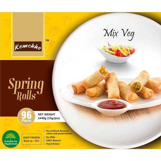 SPRING ROLL MIX VEG KEMCHHO 96 pcs