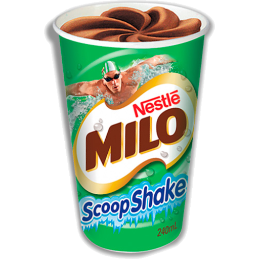 MILO SCOOPY SHAKE, NESTLE, 240ML