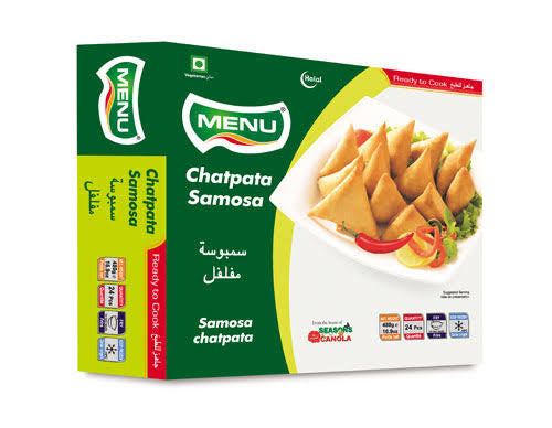 CHATPATA SAMOSA, MENU, 24PCS (480G)