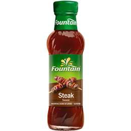 STEAK SAUCE, FOUNTAIN, 250ML
