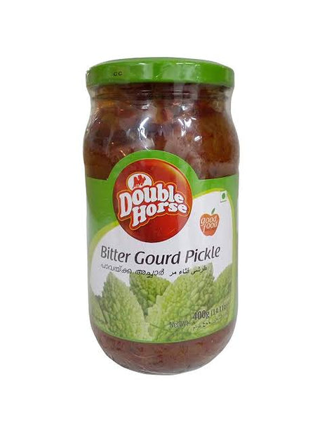BITTER GOURD PICKLE, DOUBLE HORSE, 400G