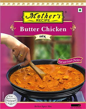 BUTTER CHICKEN, MOTHER'S RECIPE, 100G