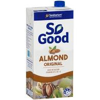 ALMOND MILK ORIGINAL (LONG LIFE), SO GOOD, 1 LITRE