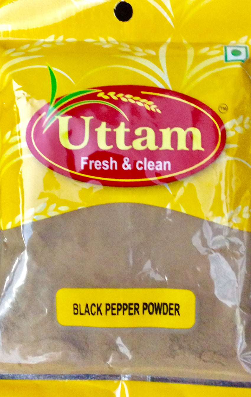BLACK PEPPER POWDER, UTTAM, 100g