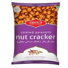 BIKAJI NUT CRACKER COATED PEANUTS 340G