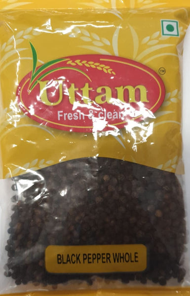 BLACK PEPPER WHOLE UTTAM 200G