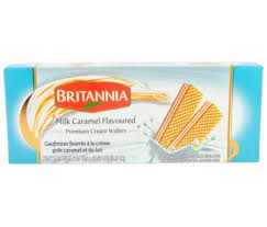 Britannia Milk Caramel Wafers 175g