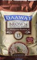 Brown Basmati Rice, Daawat 5kg