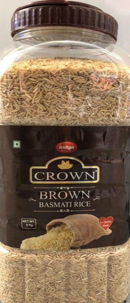 BROWN BASMATI RICE INDYA 5KG