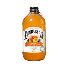 BUNDABERG PEACH DRINK 375ML