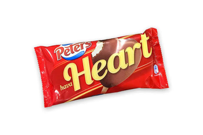 PETERS HAVE A HEART ICE CREAM