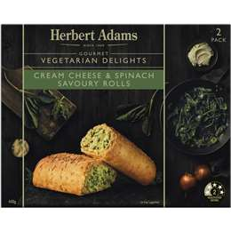 Cheese & Spinach Rolls, Herbert Adams 440g