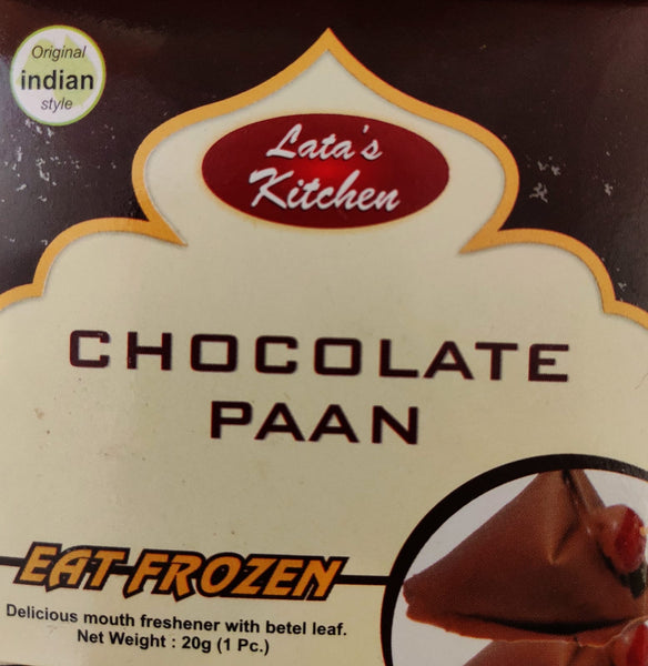 CHOCOLATE PAAN (Frozen) , LATA KITCHEN, 20G