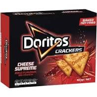 DORITOS CHEESE SUPREME CRACKERS 160G