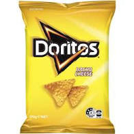 DORITOS CHIPS NACHO CHEESE, 170G