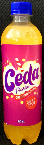 CEDA PASSION CREAMING SODA, 475 ML