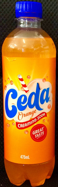 CEDA ORANGE CREAMING SODA, 475 ML