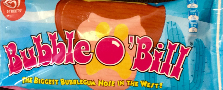 BUBBLE O BILL ICE CREAM, 67G