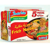 INDO MIE  NOODLE FRIED 85G X 5 PK
