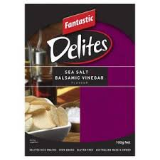 FANTASTIC DELITES SEA SALT & BALSAMIC VINEGAR 100G