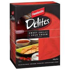 FANTASTIC DELITES SWEET CHILLI & SOUR CREAM 100G