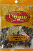 GARAM MASALA WHOLE UTTAM 100G