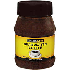 BLACK AND GOLD GRANULATED COFFEE  100g