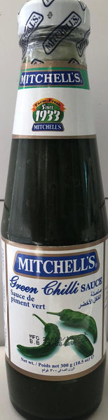 GREEN CHILLI SAUCE MITCHELLS'S 285G