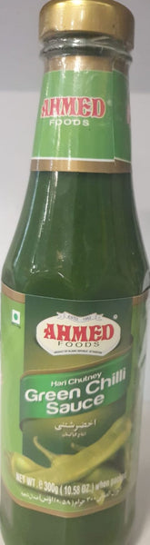 GREEN CHILLI SAUCE AHMED 300G