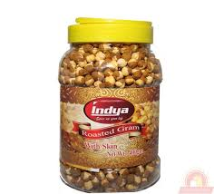 Indya Roasted Chana w/s 400g Jar