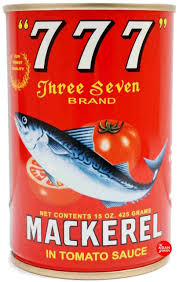 777 MACKEREL IN TOMATO SAUCE, 400g