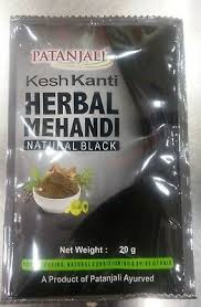 HERBAL MEHANDI NAT BLACK 20G PATANJALI