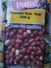 PEANUTS RAW RED PATTU 500G