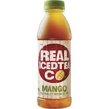 REAL ICED TEA MANGO 500ML