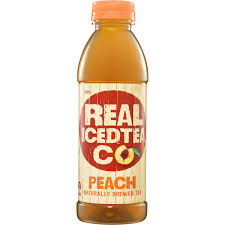 REAL ICED TEA PEACH 500ML