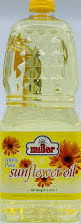 SUNFLOWER OIL 2 L MILLER