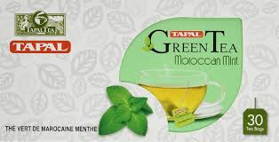 TAPAL MOROCCAN MINT GREEN TEA 30 BAGS