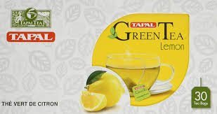 TAPAL LEMON GREEN TEA BAGS