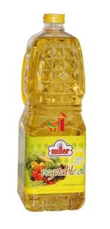 VEGETABLE OIL, MILLER, 2L