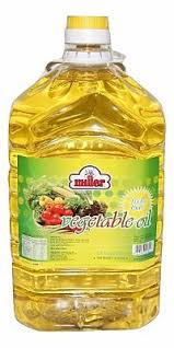 VEGETABLE OIL 5L MILLER