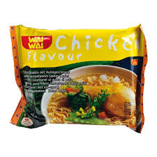 WAI WAI CHICKEN NOODLES 1PK