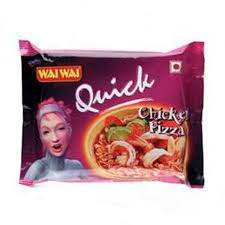 WAI WAI QUICK NOODLES CHICKEN PIZZA 70G