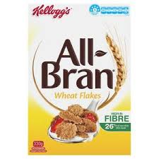 KELLOGGS ALL BRAN WHEAT FLAKES 330G