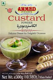 CUSTARD POWDER BANANA 300G AHMED