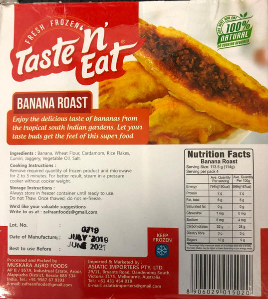 BANANA ROAST T&E 454G