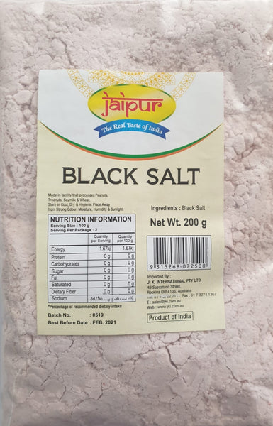 BLACK SALT GROUND, JAIPUR, 200G
