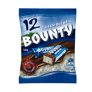 Bounty fun size, 164g