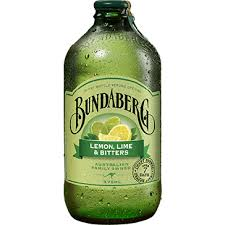BUNDABERG LEMON LIME BITTER 375ML