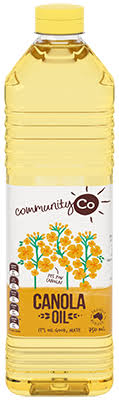 CANOLA OIL,COMMUNITY CO, 750ML